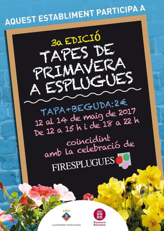 Cartell Tapes de Primavera 2017