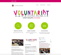 Web Voluntariat